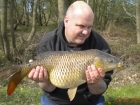 11lbs 11oz Common Carp from Calf Heath Reservoir using Mainline Grange CSL.