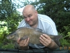 5lbs 3oz Bream from Local Syndicate using Mainline Sticky Toffee pop up dumbells.