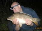Glyn Jones 8lbs 11oz Leather Carp from Washbrook