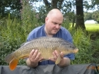12lbs 14oz Common Carp from Turf pool using Mainline Grange CSL.