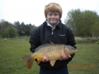 Dean Jones 9lbs 4oz Common Carp from turf pool using Mainline Cell.