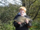 Dean Jones 5lbs 3oz Bream from turf pool using Mainline Cell.