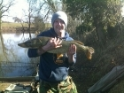 B Pool 10lbs 0oz Pike from Burlington pool (Midlesure Angling Centre Bushbury)Tel:01902-783491
