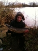 B Pool 12lbs 8oz Pike from Burlington pool (Midlesure Angling Centre Bushbury)Tel:01902-783491