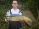 B Pool 13lbs 0oz Pike from Burlington pool (Midlesure Angling Centre Bushbury)Tel:01902-783491