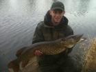 B Pool 13lbs 2oz Pike from Burlington pool (Midlesure Angling Centre Bushbury)Tel:01902-783491