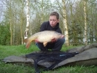 George Wood 12lbs 6oz Common Carp from Baden Hall Fisheries