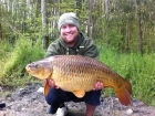 Mark Woolley 19lbs 12oz Common Carp from Great Linford Lakes using CC Moore.. Video - http://www.youtube.com/watch?v=w4RHBYlTWMs
