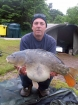 Andy Hyden 23lbs 8oz mirror from fisherwick using cell /grange.