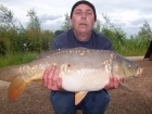 Andy Hyden 18lbs 8oz Mirror Carp from fisherwick using cell /grange.