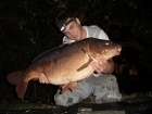 23lbs 6oz Mirror Carp from Penns Hall. Fished tight to the far bank using solid Bags full of