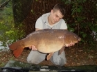 20lbs 4oz Mirror Carp from Penns Hall. Fished tight to the far bank using solid bags full of