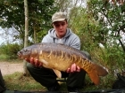19lbs 14oz Mirror Carp from Fishawick. Solid Bags, Pellets & Boilies