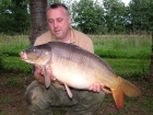 21lbs 5oz Mirror Carp from Etang de Cosse using Solar Club Mix (Squid & Octopus, Stimulin and Anchovy).