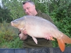 24lbs 8oz Mirror Carp from Mas Bas - Angling Lines Holidays using Quest Baits Rahja Spice.