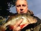 2lbs 2oz Perch from Staffs And Worcester Canal using Savage Gear Fire Tiger.. Personal best perch