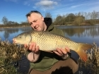 12lbs 0oz Common Carp from Cudmore Fisheries using Nash Scopex.. Great early season day ticket session with Joe, Tom and Dave. We all caught in the end and had some laughs and sunshine. I had 4 low