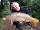 14lbs 0oz Common Carp from Burnham-on-sea Holiday Village using CC Moore Pacific Tuna.