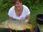 16lbs 10oz Mirror Carp from Mas Bas - Angling Lines Holidays using Quest Baits Rahja Spice.