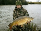 Neil Wood 19lbs 2oz Mirror Carp from Bayliss Pools using Solar Pineapple.