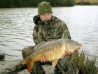 Neil Wood 16lbs 0oz Mirror Carp from Bayliss Pools using Solar Pineapple.