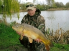 Neil Wood 17lbs 0oz Mirror Carp from Burnham-on-sea Holiday Village using Premiere Matrix.