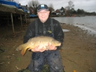 Mick Sumner 16lbs 8oz Mirror Carp from Drayton Reservoir using HBS pineapple.. Steve Rowe caught from the centre of the lake on a Chod rig.