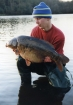 Mick Sumner 24lbs 0oz Carp from Sutton Park using Solar, Esterblend 12 & Dairy cream.