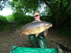 32lbs 8oz Carp from Acton Burnell. Size 8 Drennan Super Specialist, 8lb Berkley XL, TMG Surface Missile