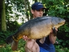 25lbs 8oz Carp from Castlemere using Size 8 Drennan super specialist,.
