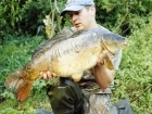 19lbs 0oz Carp from Castlemere. Surface caught, size 8 super specialist, 8lb XL hooklink