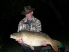 Dave Hutton 38lbs 2oz Common Carp from Lac Du Val using mine.. Fishing in the snags to one of the Islands with Lac de Val Boilie's size 4 hook with a Blow Back rig
