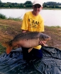 Thomas Barnacle 20lbs 0oz Mirror Carp from Etang Neuf using Solar Club Mix (Squid & Octopus, Stimulin and Anchovy).. Holiday 2006