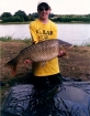 Thomas Barnacle 20lbs 12oz Common Carp from Etang Neuf using Solar Club Mix (Squid & Octopus, Stimulin and Anchovy).. Holiday 2006