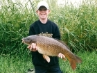 Thomas Barnacle 13lbs 0oz Common Carp from Catton Park Fishery using Nutrabaits Big Fish Mix - Caviar/Black pepper Combo.