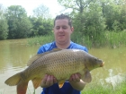 Steve Pugh 11lbs 7oz Common Carp from Merrington Carp Fishery
