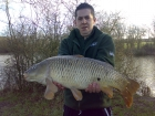 Steve Pugh 11lbs 0oz Common Carp from Merrington Carp Fishery