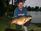 21lbs 2oz Mirror Carp from Local Club Water using Solar Club Mix (Squid & Octopus, Stimulin and Anchovy).