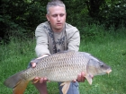 Tom Tank 10lbs 1oz Common Carp from Dyffryn Springs using Nash Amber Strawberry.