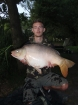 Paul Fox 26lbs 0oz Mirror Carp from Hawkhurst Fish Farm using Mainline.. early hours off bottom with boilies with only a handful of other boilies
