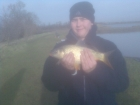 Adam Handley 3lbs 0oz Common Carp from Stanton Lakes. My first carp of the year