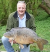 Shaun Johnson 38lbs 0oz carp from Willow Pool using spicy shrimp and prawn.