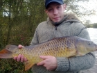 Steven Spilsbury 17lbs 7oz carp from Pool Hall Fisheries