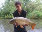 Jay 15lbs 12oz 12dr Common Carp from Burnham-on-sea Holiday Village. on ocean fresh