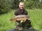 Mark Woolley 15lbs 0oz Common Carp from Sherrington Rd Pit Complex. nash classic tutti fruity boilies 15mm