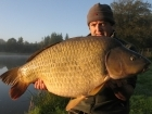 Jon Perkins 40lbs 3oz Common Carp from Les Croix