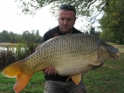 Jon Perkins 37lbs 6oz Common Carp from Les Croix