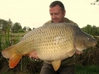 Jon Perkins 50lbs 1oz Common Carp from Les Croix