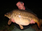 Essex Carp Baits 25lbs 0oz Mirror Carp from Aquatels Carp Fishery using Essex Carp Baits C.I.A Chocolate Intense Amino.