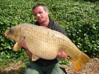Essex Carp Baits 27lbs 0oz Common Carp from Aquatels Carp Fishery using Essex Carp Baits C.I.A Chocolate Intense Amino.